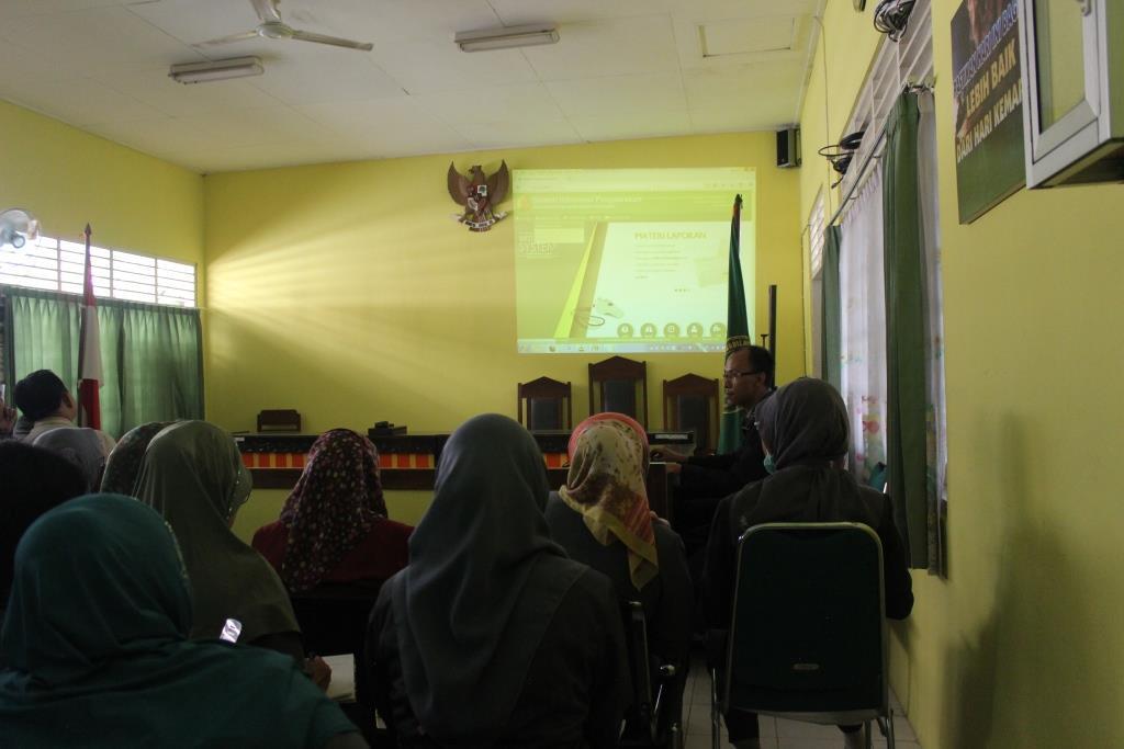 Sosialisasi SIWAS Pengadilan Negeri Mungkid