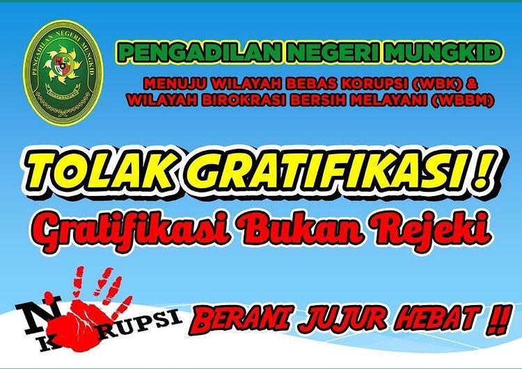 Public Campaign  Pengendalian Grafitifikasi Pengadilan Negeri Mungkid